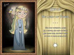 Helia La luz del poder La reina más poderosa como corona, usó la varita y desde entonces no necesitó volver a sujetarla en la mano