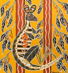 An exhibition showcasing art from Indigenous Australians in or recently released from Victorian prisons opens today in Melbourne Aboriginal Art Animals, Abstract Animals, Abstract Drawings, Abstract Art, Abstract Paintings, Victorian Prison, Outsider Art, Animal Paintings, The Guardian