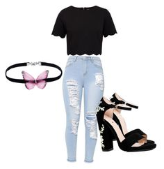 """"" by tvd-teenwolf-lovez on Polyvore featuring Ted Baker and Boohoo"