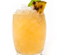 Piñata -- Muddle in a pitcher then dump in a whole lot of rum to make this drink party-ready.