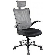 Ergo Luxury Mesh Back Executive Chair Black Packed With Ergonomic Features This Office Will Help You Stay Comfortable While Work