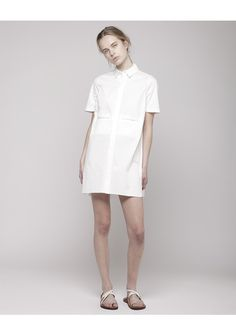AR / Oversize Shirt Dress | La Garçonne