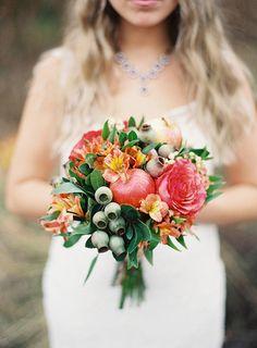 wedding bouquet autumn