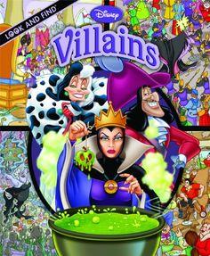 Look and Find: Disney Villains by Editors of Publications International http://www.amazon.com/dp/1412776945/ref=cm_sw_r_pi_dp_dGXWtb1N4RP6CPB5