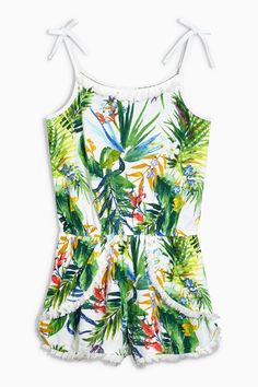 Buy Print Fringe Playsuit from the Next UK online shop Girls Rompers, Buy Prints, Next Uk, Canada, Playsuit, My Girl, Kids Fashion, Kid Stuff, Stuff To Buy