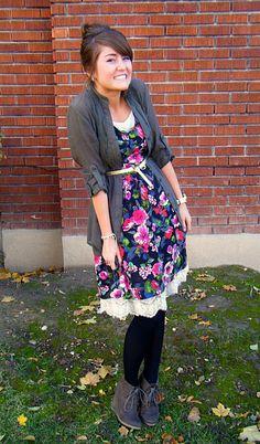 Winterized dress! Perf!