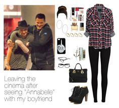 """Leaving the cinema after seeing ""Annabelle"" with Liam"" by myllenna-malik ❤ liked on Polyvore featuring Prada, River Island, Rails, NARS Cosmetics, Wet Seal, ASOS, Burberry, Bobbi Brown Cosmetics, OneDirection and LiamPayne"