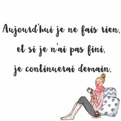 Parisienne - doing nothing all day
