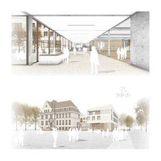 Anerkennung: Visualisierungen, © HWR Architekten