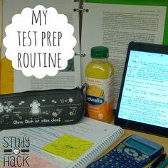 Test Prep Routine