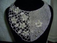 tejido en hilo de plata