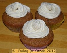 Coffee Cupcakes with Maple Butter Cream Icing [link takes you to cooking for oscar - individual meat pies. search 'coffee' & you'll find the recipe. or browse other recipes ; Coffee Cupcakes, Coffee Cake, Butter Icing, Cake Mixture, Cupcake Cakes, Cup Cakes, Coffee Dessert, Cake Tins, Other Recipes