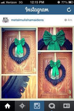 Alisha we need this and just change out the bow for the season or holiday