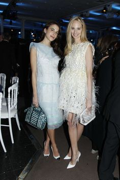 Caroline Sieber & Lauren Santo Domingo in Louis Vuitton Spring 2012