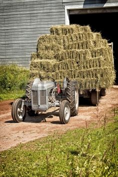 Dad was always a hard worker, and did whatever he could to take care of his family. When I was a kid he hauled hay to provide for his family. It was hard and tiring work in the Oklahoma heat.