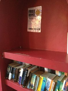 So neat to know that some places have created shelves specifically for these books! :)