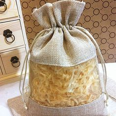 Favor Gift Boxes Jute Clear Drawstring Bags Gift Pouches New Wedding Holders# Fashion Gift Card Box Wedding From Wedding Gift Card Box, Gift Card Boxes, Hessian Fabric, Burlap, Clear Gift Bags, Sustainable Textiles, Diy Bags Purses, Jute Crafts, Craft Bags