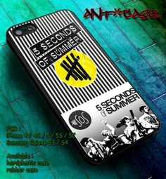 5 seconds of summer #5sos case for samsung galaxy s3/s4/s5/s3mini/s4mini HTC one, iphone 4/4s/5/5s/5c