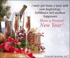 Dgreetings - Have a Blessed New Year...!