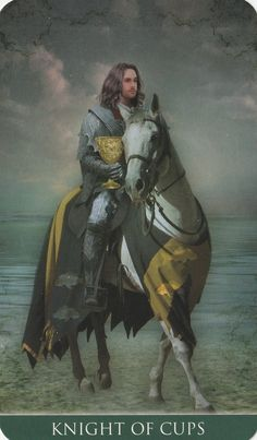 Knight of Cups - Thelema Tarot