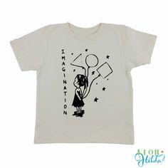 Imagination Tee || Organic Cotton Vintage Eco-friendly T-Shirt