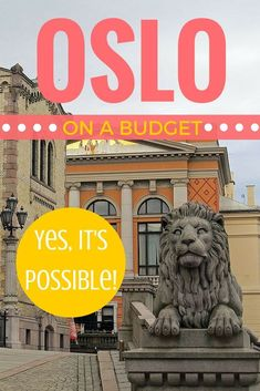Tips for visiting Oslo, Norway on a small budget - it's definitely possible! Here are the steps you can take to make a weekend in Oslo affordable.