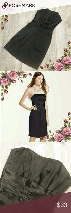 MAKE AN OFFER ;) Staples little black dress. In excellent condition. Has two pockets. Zipper works great. David's Bridal Dresses Midi