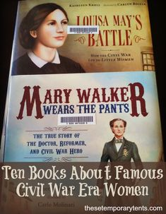 Study the Civil War through the stories of the women nurses, spies, soldiers, reformers, and more. Top 10 list of Civil War Women Books PLUS free notebooking pages. - Visit to grab an amazing super hero shirt now on sale!