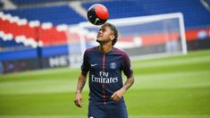 Neymar    It is being rumoured that Paris Saint-Germain star Neymar may be heading for Real Madrid, as he is being widely tipped to repla...