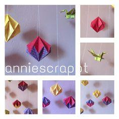 annie scrappt - rund ums Papier und noch viel mehr: Warum nicht auch mal Origami...