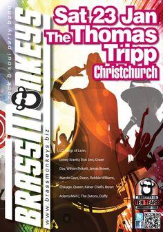 BrassMonkey Gig Alert - Sat 23 Jan - Thomas Tripp, ChristchurchPicture