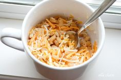 Homemade Single-Serve Microwave Macaroni and Cheese in a Mug! - Ella Claire