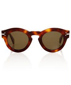 Céline Brown New Butterfly Sunglasses | Sunglasses by Céline | Liberty.co.uk