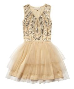 Turn Back Time Tutu - Apricot. Oh my gosh  I absolutely adore this! It reminds me of the 1920's with the beading, it looks vintage, I like! Haha