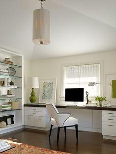 Simple setup under a large window