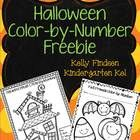 Two cute, free color by number sheets to help you get through your classroom Halloween celebration as easily as possible! :) ...