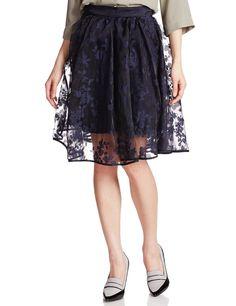 Amazon.co.jp: (スナイデル)snidel フラワーオパールスカート: 服&ファッション小物通販