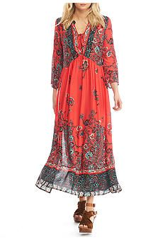Free People If Only You Knew Maxi Dress