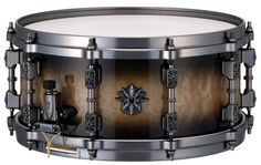 Tama Warlord Valkyrie / Swarovski crystals embedded in lugs / my current snare