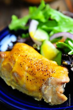 Honey Mustard Chicken Thighs Recipe - Cooking | Add a Pinch | Robyn Stone