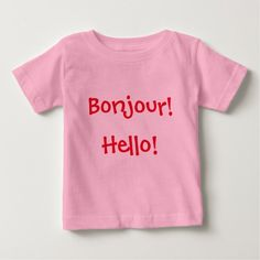 "French & English Baby: ""Bonjour!"" and ""Hello!"""