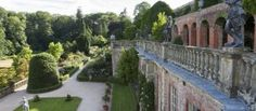 The orangery at Powis Castle and Garden, Wales