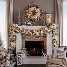 i want a fireplace christmas fireplace garland christmas garlands christmas mantels fireplace mantle
