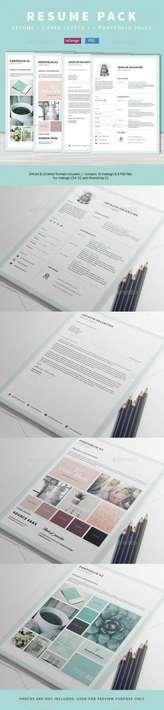 Brand Analyst Sample Resume Cool Resume Template  Cv Template Cover Letter Par Bestresume Sur Etsy .