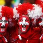 Experiential Marketing, Flag Colors, National Flag, Football Fans, Man, Cheerleading, Wigs, Carnival, Celebrities