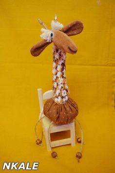 NKALE:-) In the heart of each toy: Master class from Nkale: Giraffe