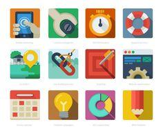 Flat-SEO-Icons