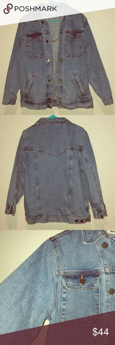 ASOS Denim Jacket This is an oversized, early 90's style fit. Jacket is in PRISTINE condition. It's a UK size 10 which is a US size 8. ASOS Jackets & Coats Jean Jackets