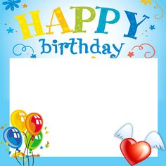 Create Happy Birthday Celebration Photo Frame With Your NameBirthday Online Generator