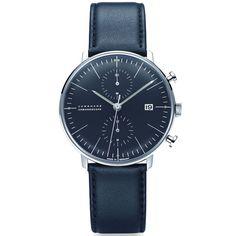 JUNGHANS MAXBILL ユンハンス マックスビル クロノグラフ (クロノスコープ) 腕時計 JH-027.4601.00